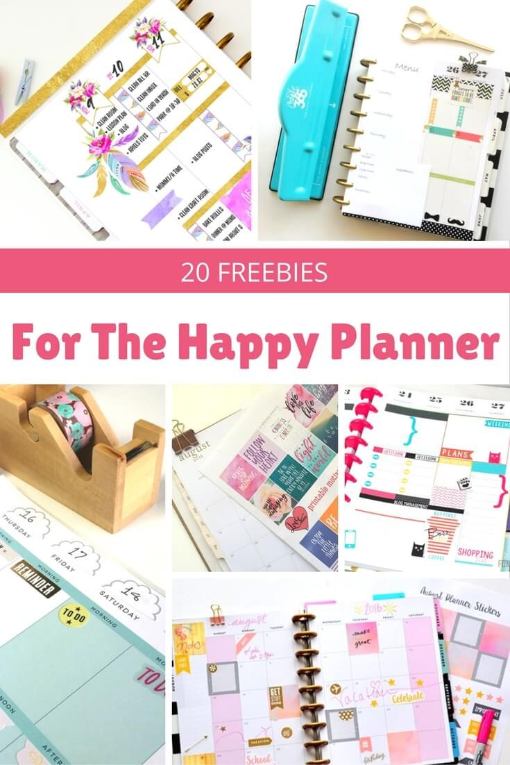 Happy Planner Calendar Printables : Awesome happy planner free printables
