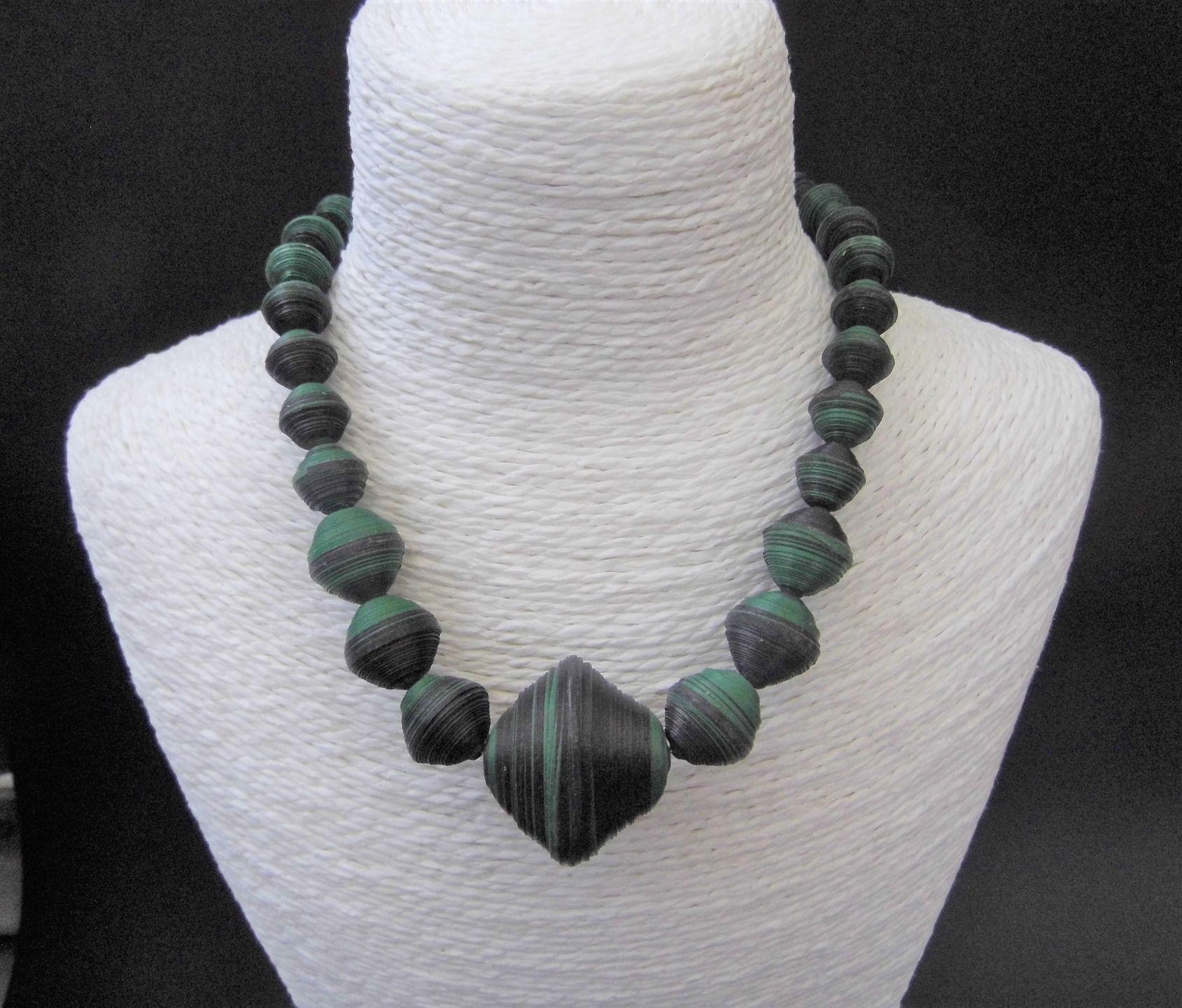 Fabriquer collier grosses perles