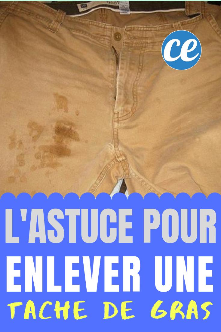 Enlever Tache De Graisse : enlever, tache, graisse, L'astuce, Efficace, Enlever, Tache, Tissu, Vêtement., Tâche, Gras,, Vetement