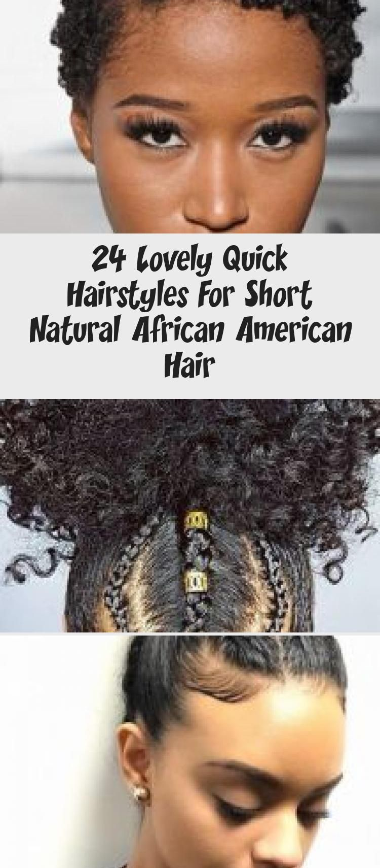 24 Lovely Quick Hairstyles For Short Natural African American Hair - Hairstyle   A2VIDS #africanamericanhair Quick Hairstyles for Short Natural African American Hair Luxury Super Hair Growth Oil Diy Recipe #quickhairstylesOnTheGo #quickhairstylesWithBangs #quickhairstylesForGym #quickhairstylesScrunchie #quickhairstylesUpdos