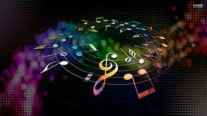 Music Hd 1080p Wallpaper High Resolution Wallpaper Music Wallpaper 1080p Wallpaper Music Notes
