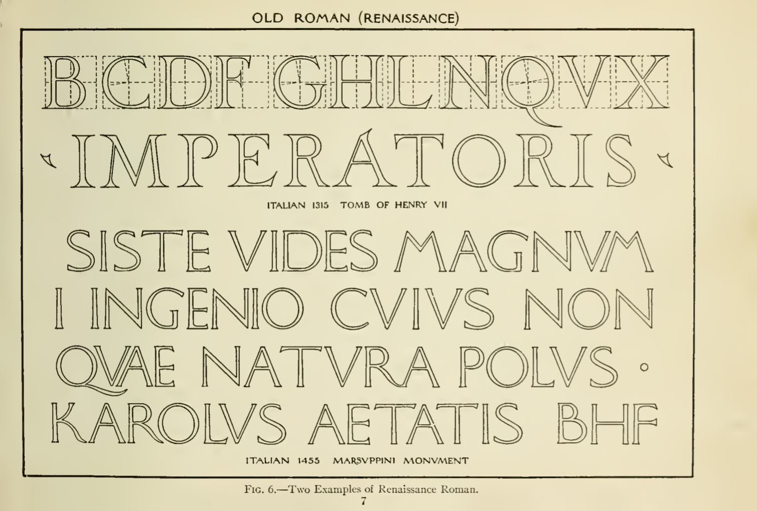 Old Roman - The Essentials of Lettering (1912)