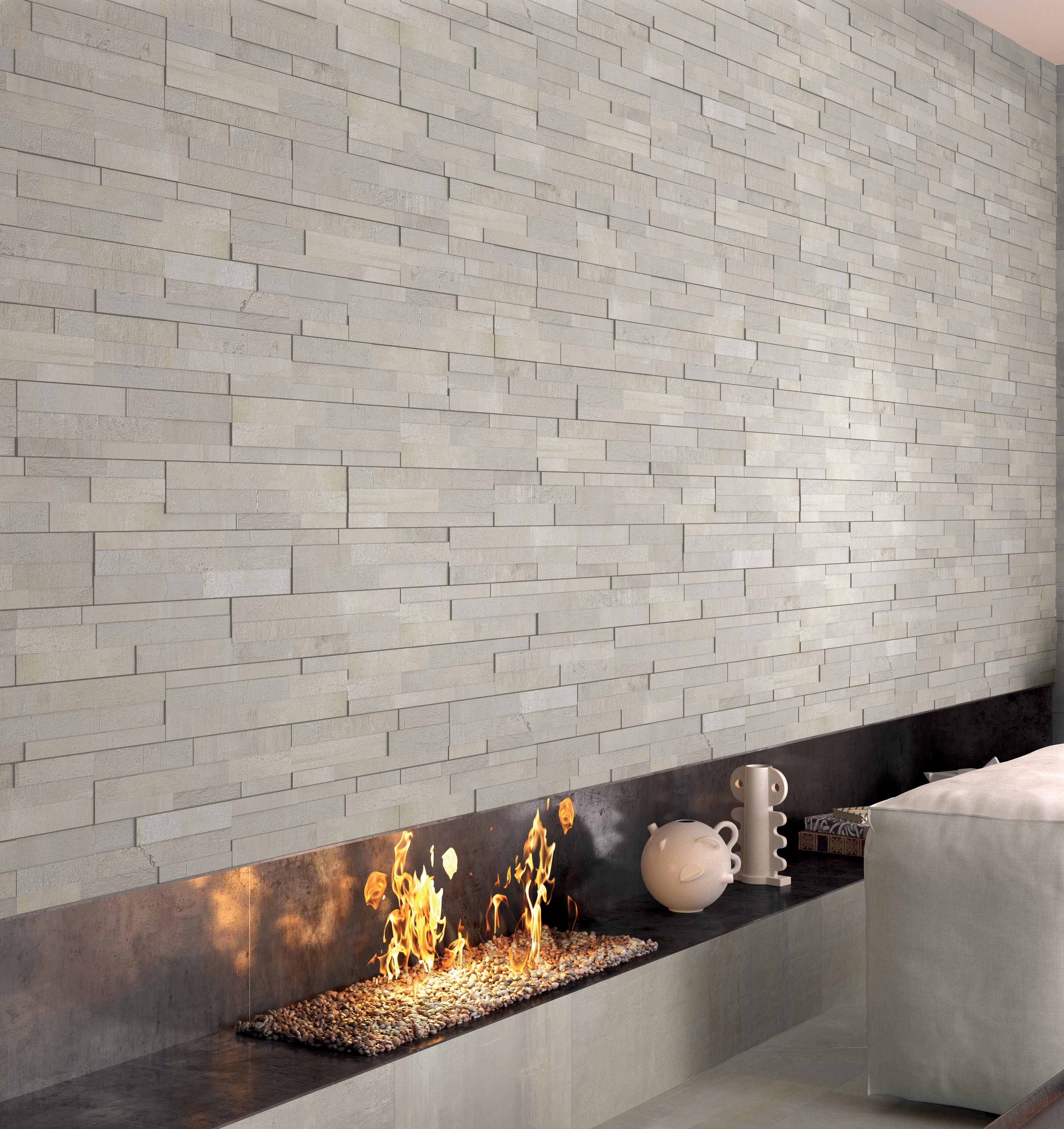 Stoneone Collection Wall Design Interior Architectural Fireplace Inspire