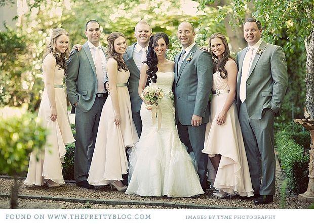 Dusty Teal Wedding Themes Pink Grey Vintage Wedding