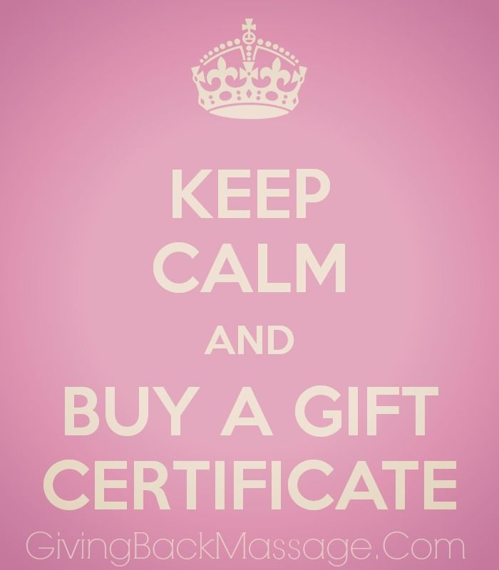Don't know what Gift to get? A Gift Certificate to Giving Back Massage, Spa & Wellness is always the perfect idea. 10% of Profits go to Charity <3 #Spa #LongIsland #NY #GivingBackMassage