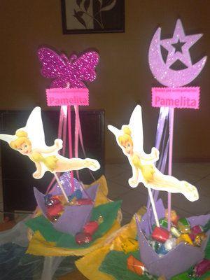 Bellos centros de mesa para fiestas infantiles - Mesas infantiles disney ...