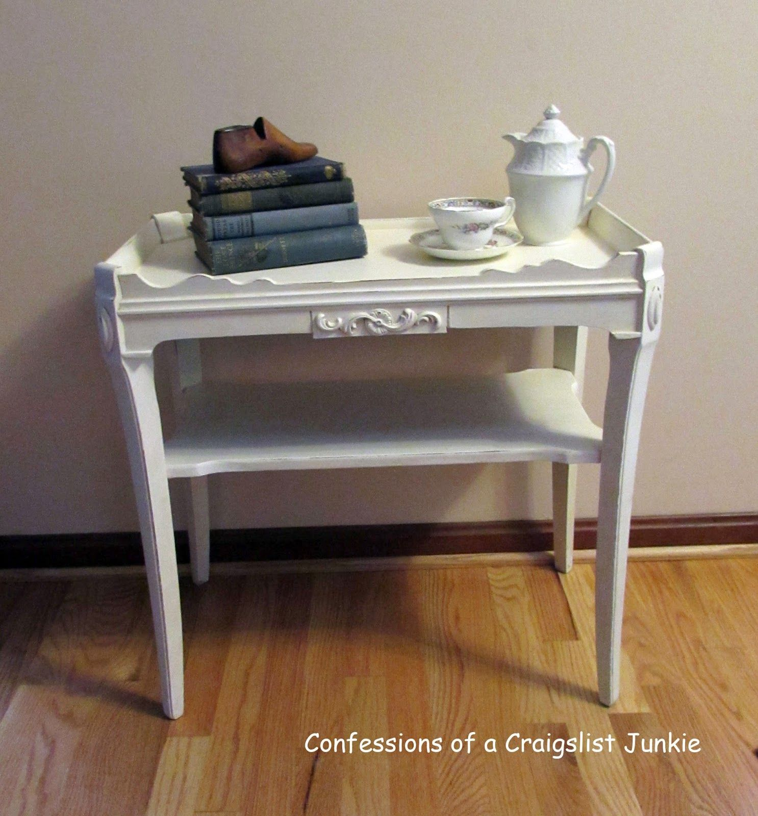 confessions of a craigslist junkie: Table Redo and Making Things Simpler