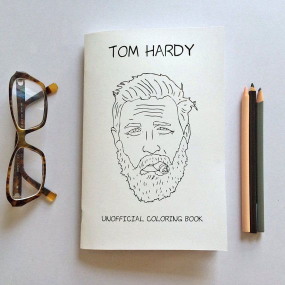 Tom Hardy Coloring Book - Worksheet & Coloring Pages