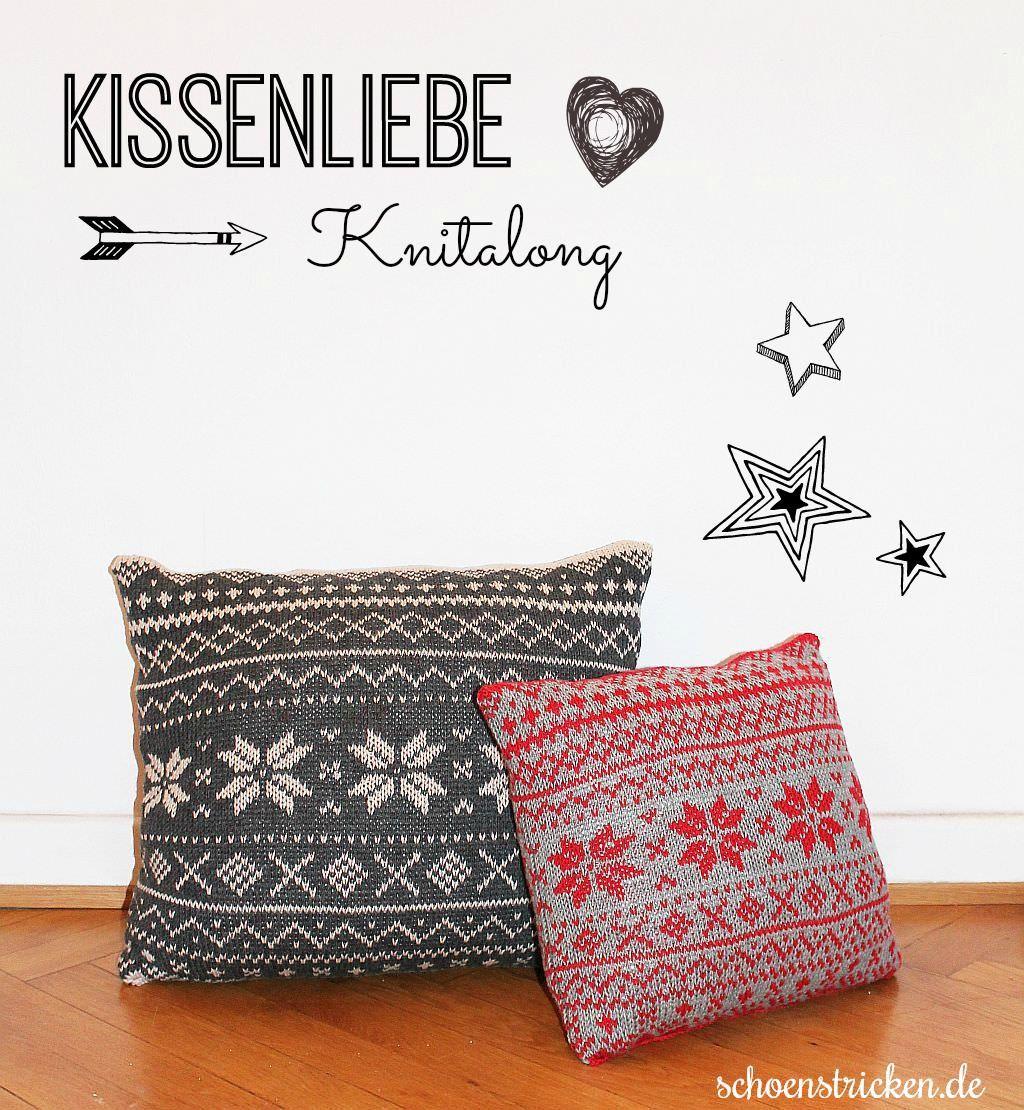 Bildergalerie Knitalong Norwegermuster Kissen | Pinterest