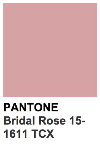 Pantone 15 1611 Tcx Bridal Rose Beltane In 2018 Pinterest