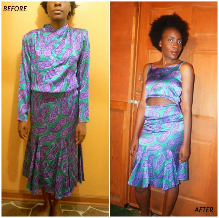 ChiChi Loves...Crop Top and Skirt Set DIY