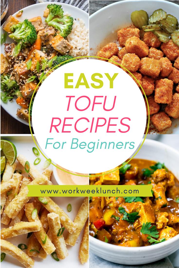 Super Easy Tofu Recipes For Beginners Tofu Recipes Easy Tofu Recipes Vegan Cheap Vegan Meals