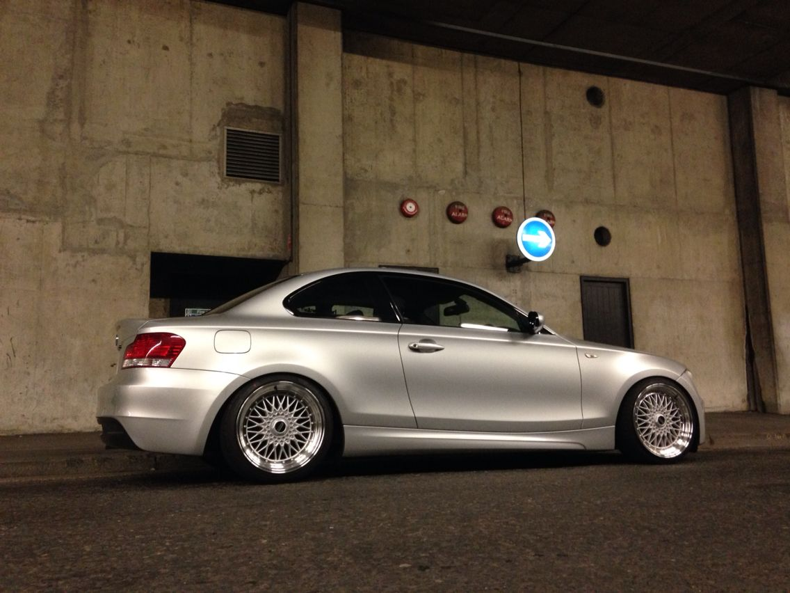E82 123d Msport Coupe Stance Modified Bmw Bmw 1 Series Bmw Coupe