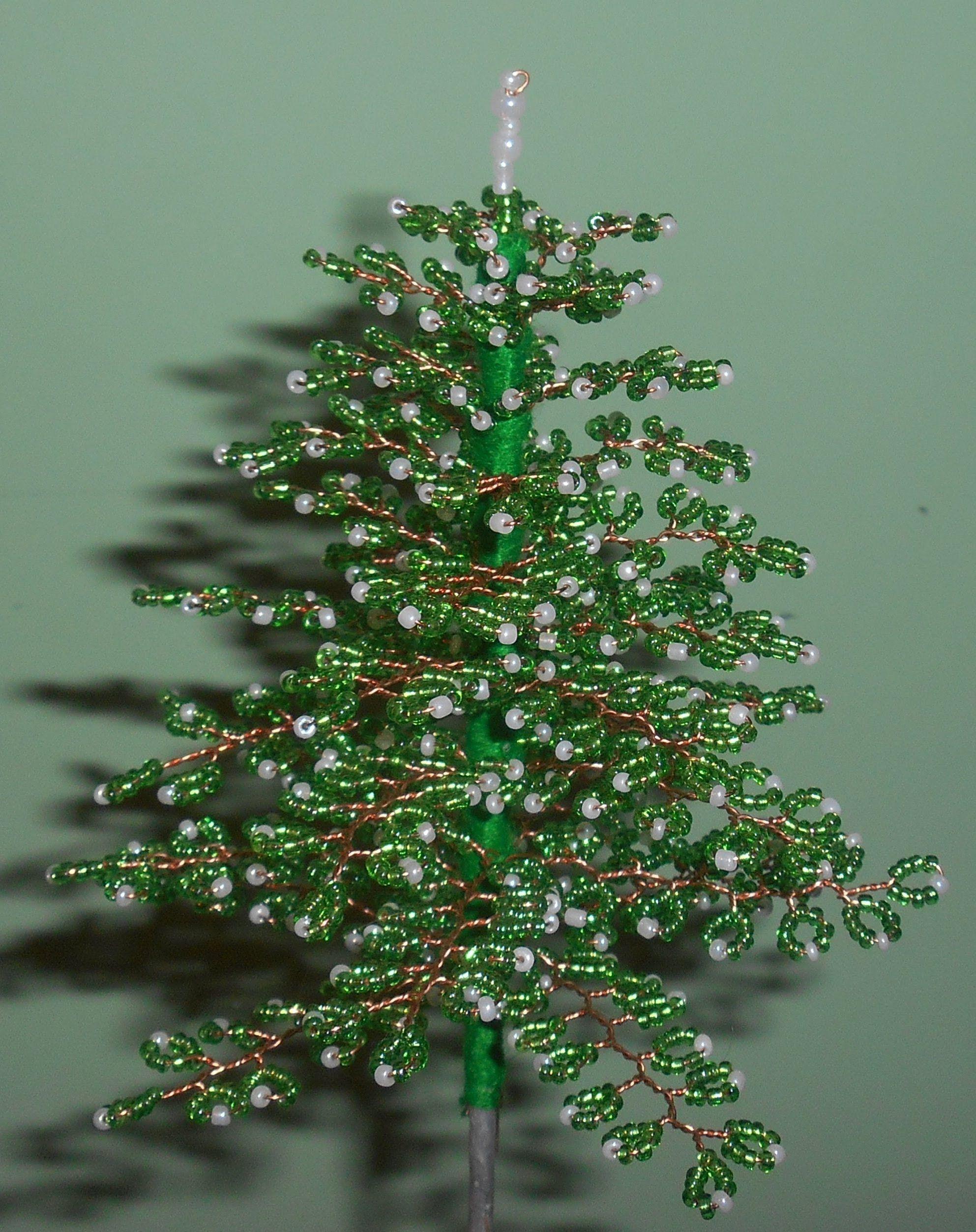 Winter tree: bead weaving 11