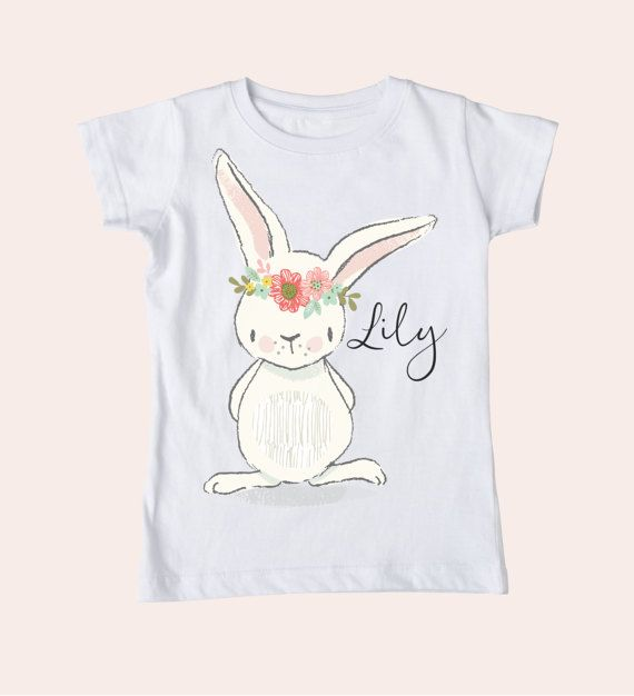 Hey i found this really awesome etsy listing at httpsetsy easter shirt girl easter personalized easter by booandbirdie negle Gallery