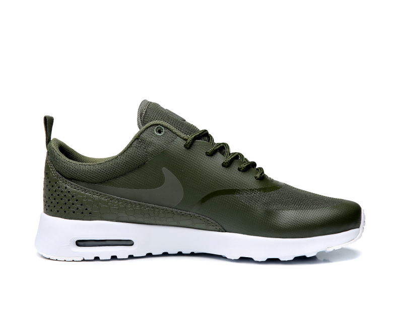 online store 50a63 68f00 New Style Nike Air Max Thea SE Olive Green White Men s Women s Running Shoes  Sneakers
