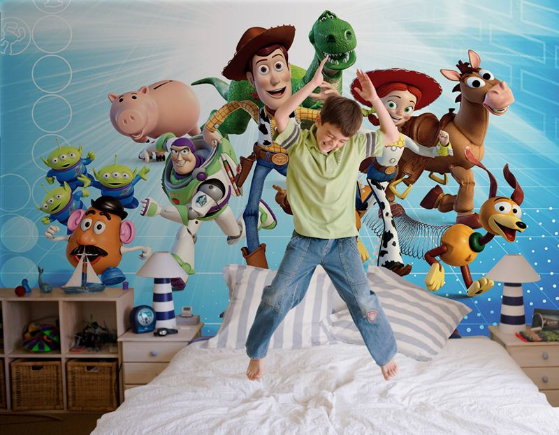 Toy Story The Gang Wall mural Wallpaper Photowall Home decor