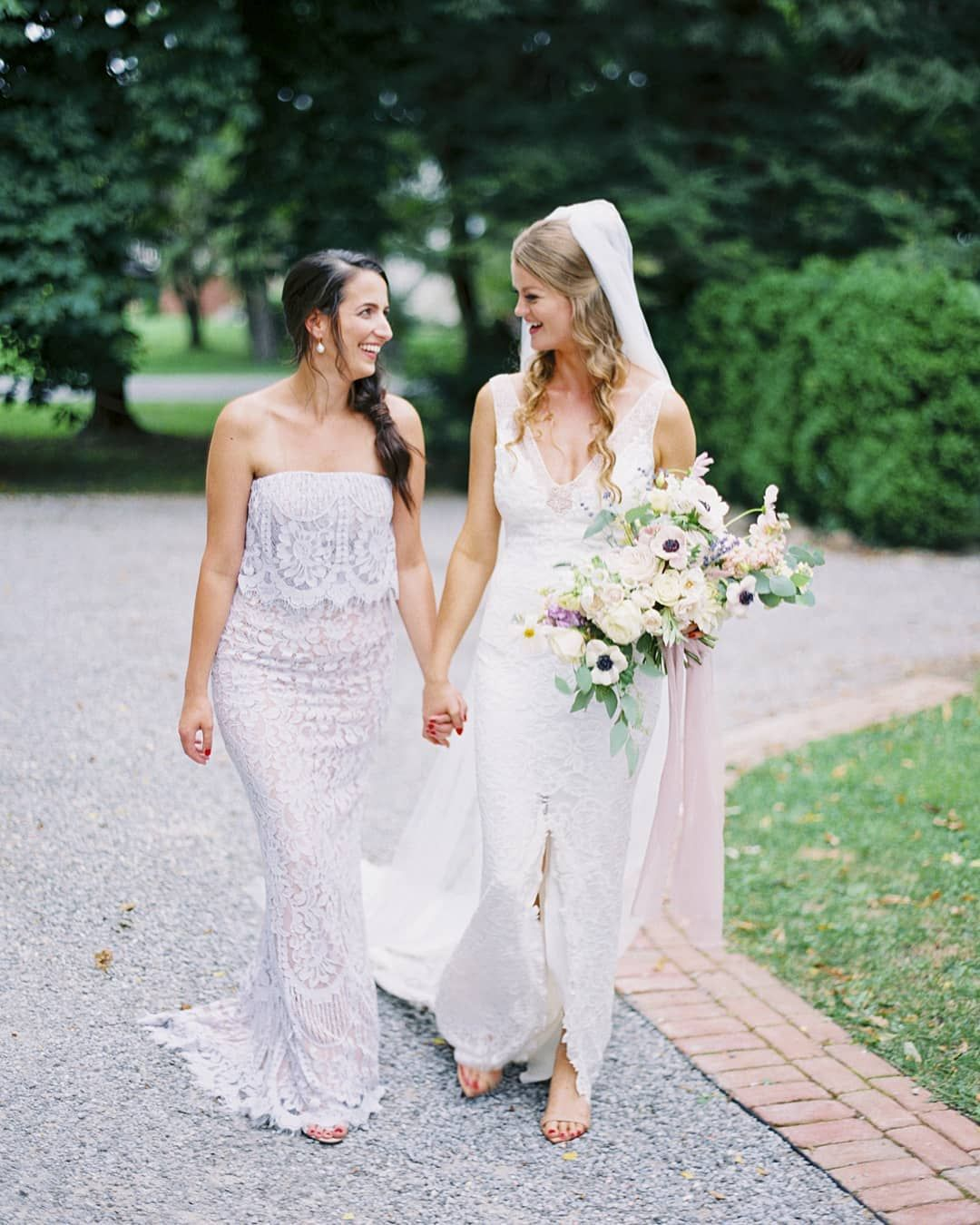 7c9247a325b5 Beautiful bride @galfiastrid & her stunning maid of honour in our ADELINE  gown in lavender. Credits: @andrewmarkphoto #ootd #weddinginspirations  #bridal ...
