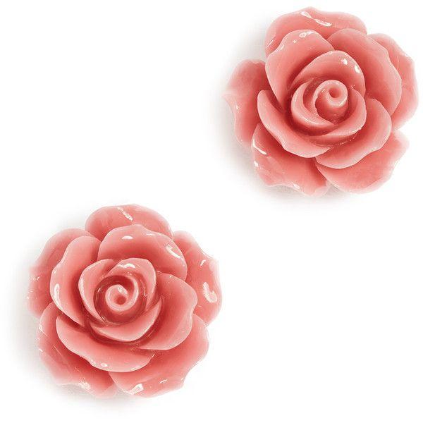 Theia Jewelry Camellia Stud Earrings PjhLEpON
