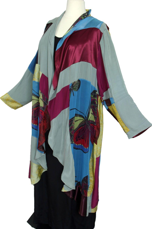 b1ca5a919df Plus Size Special Occasion Coat Burgundy Blue Gold Sage Wearable Art Size  22 24 SHOP