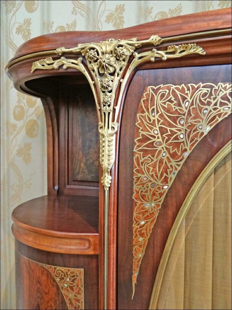 Meuble De Louis Majorelle Musee De L Ecole De Nancy Art Nouveau Interior Art Nouveau Furniture Art Nouveau