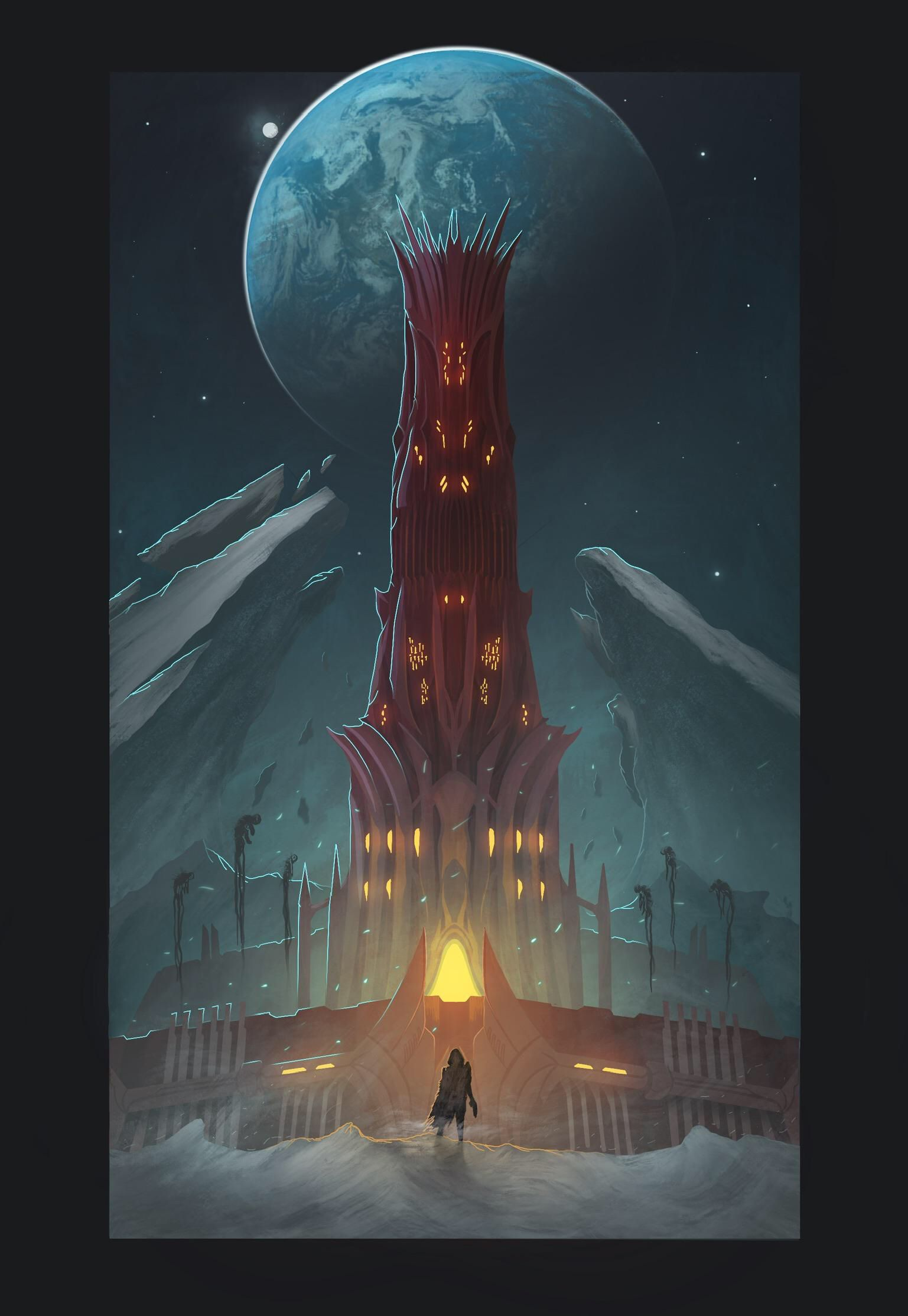 The Scarlet Fortress.. so cool! Destiny game, Destiny