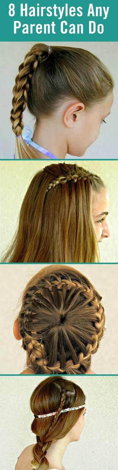 8 Super Cute Hairstyles Any Parent Can Do Themselves Hair