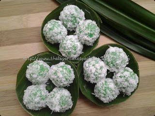 Ncc Jajan Tradisional Indonesia Week Klepon Indonesia