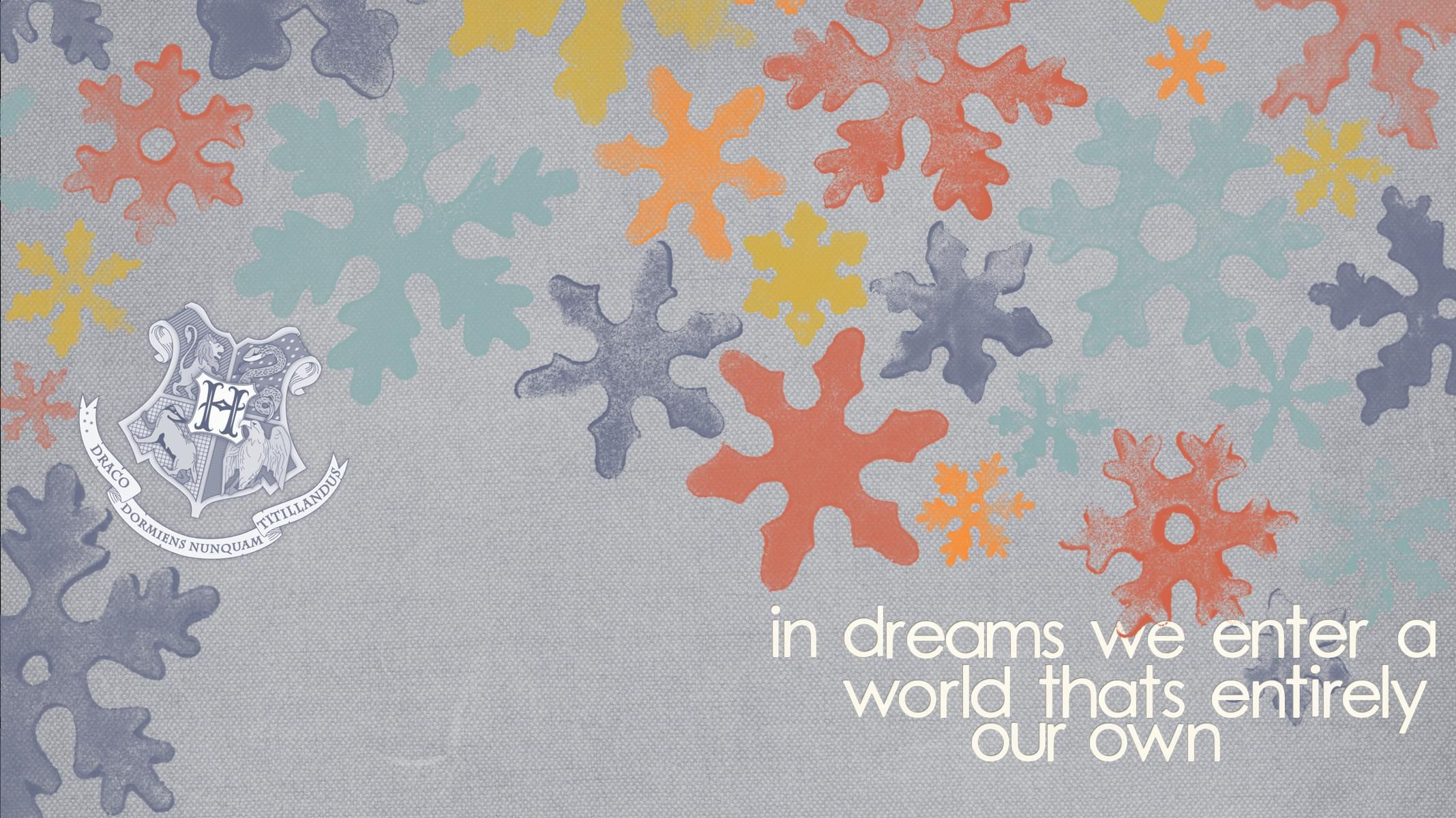 harry potter a· dumbledore quote in dreams we enter a world thats entirely our own widescreen a· widescreen wallpaperdesktop