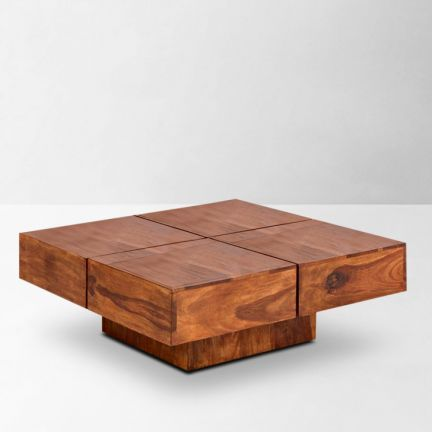 Solide Solid Wood Coffee Table Honey - Refresh your living space!Beautify  your living space - Solide Solid Wood Coffee Table Honey - Refresh Your Living Space