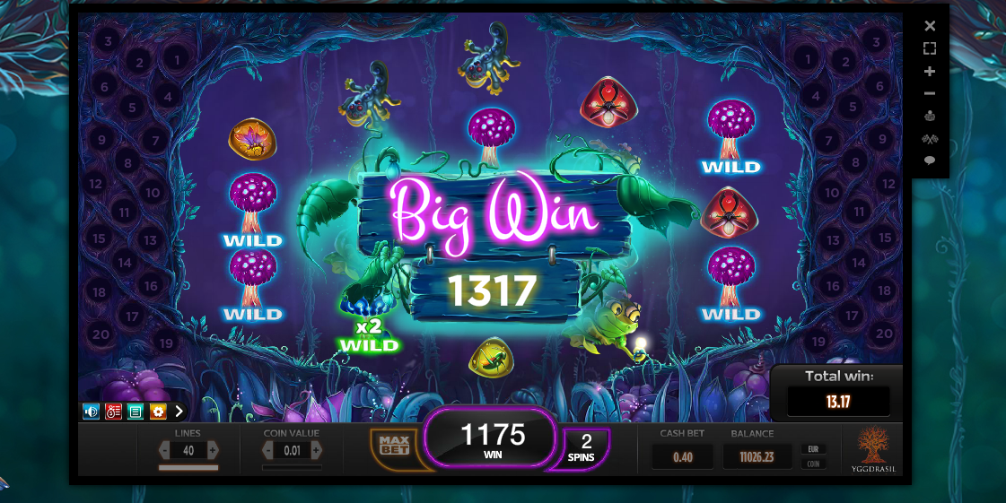 Magic Mushrooms game for fun! Only click on the imagen and start playing without…