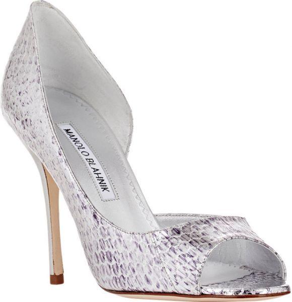 Sapatos De Noiva Manolo Blahnik 2016 O Maximo Glamour Para Os