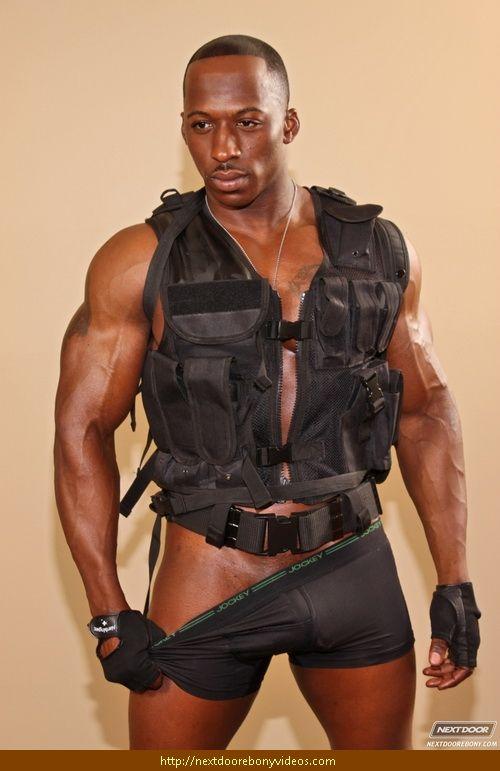 Black male stripper