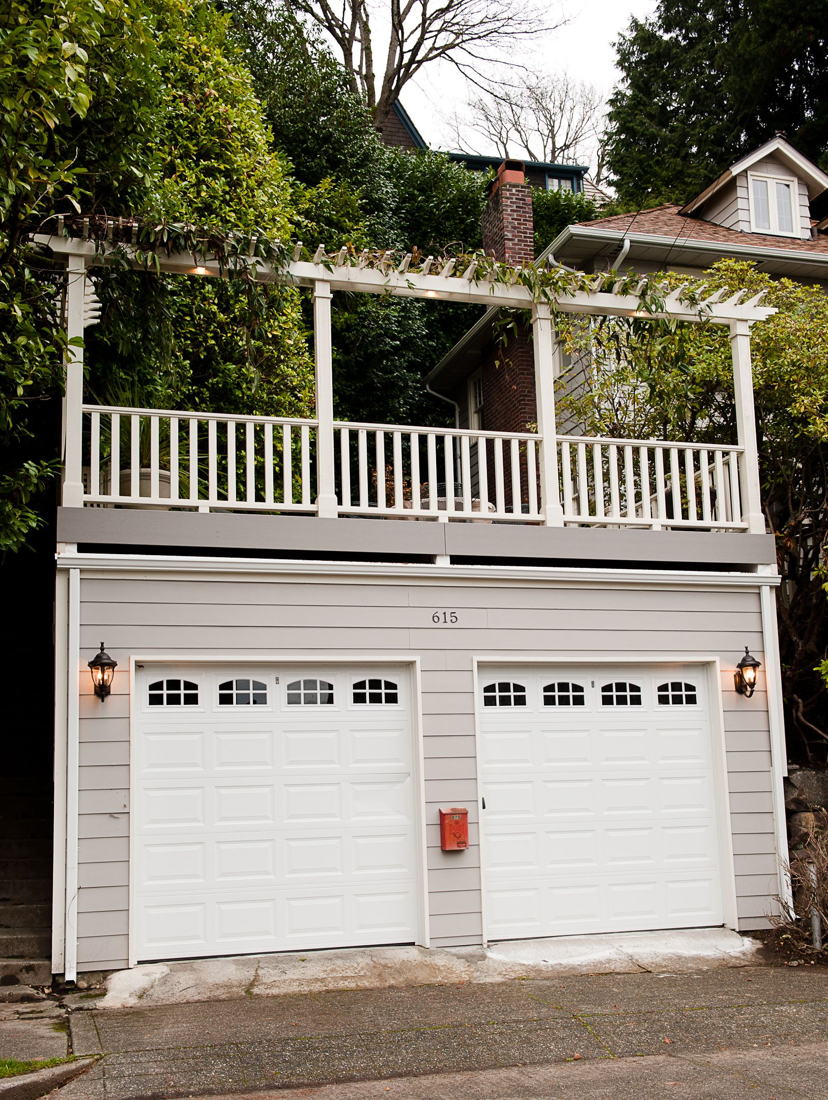 seattle deck over garage carport pinterest decking. Black Bedroom Furniture Sets. Home Design Ideas