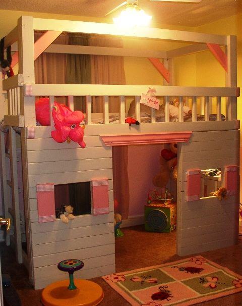 M s de 25 ideas incre bles sobre camas de ni a peque a en for Habitacion pequena nina