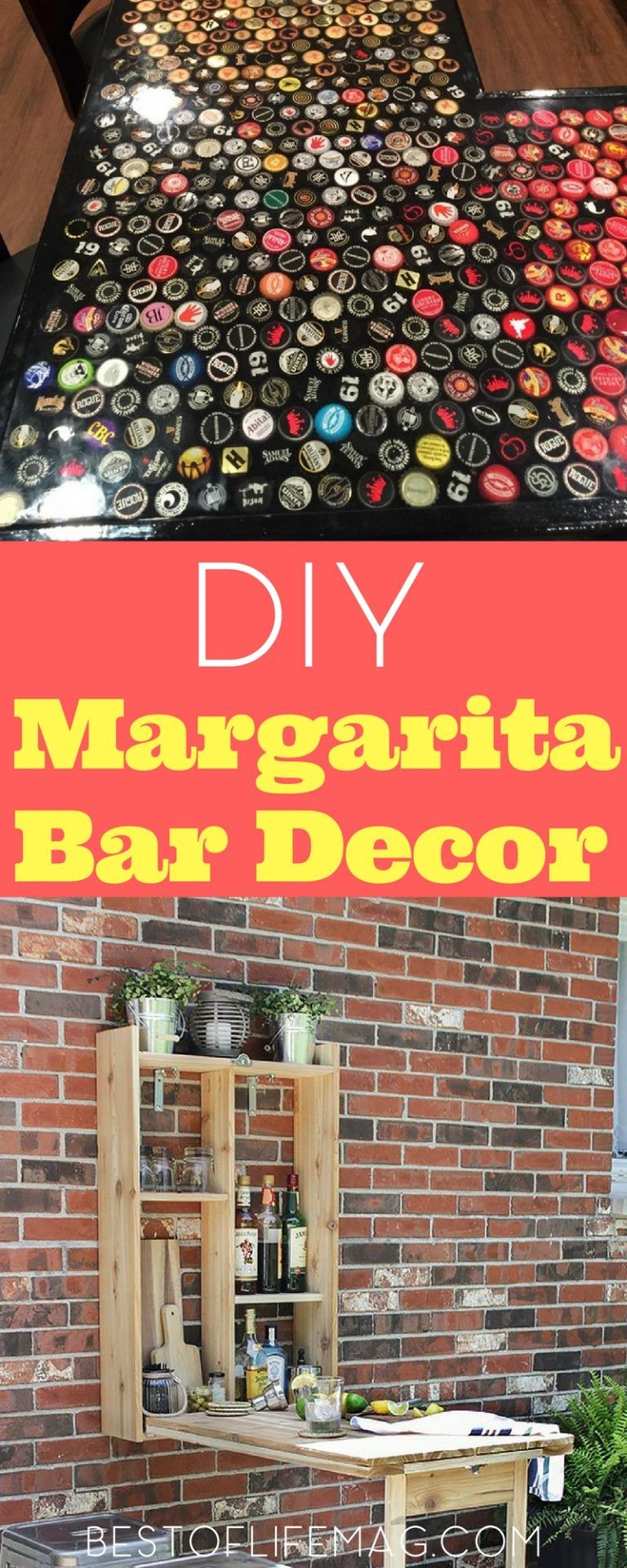Margarita Bar Decorations and Ideas | Margaritas, Bar and Easy