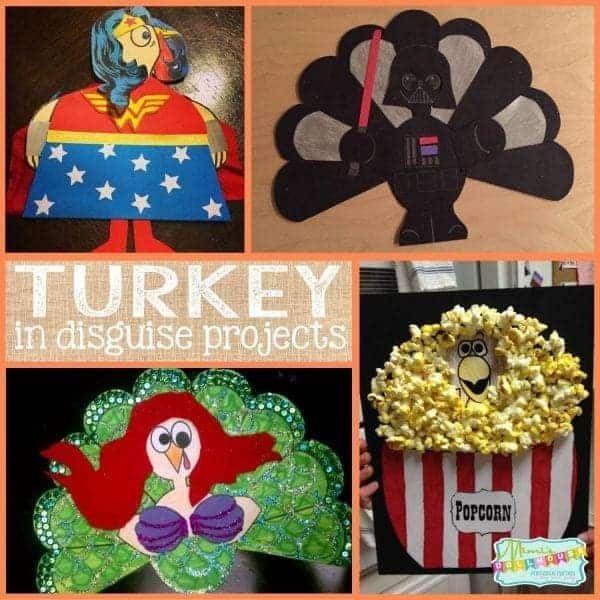 Turkey disguise - Turkey project - Thanksgiving school - Kindergarten projects - Thanksgiving p