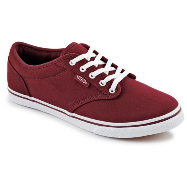 Vans Atwood Women's Shoe $44.99 (Compare at $50.00) The deep wine/garnet color is my favorite this season! #OBSWishList