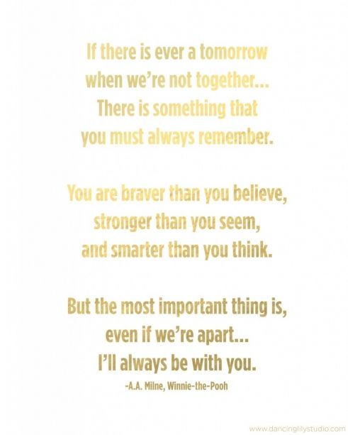 Winnie The Pooh Quote Mother S Day Mother Quotes Pooh Quotes