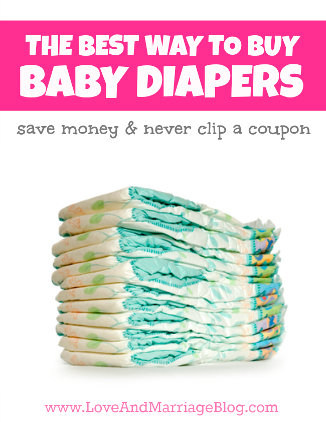 The Best Way To Buy Baby Diapers (Cheap, Easy and No