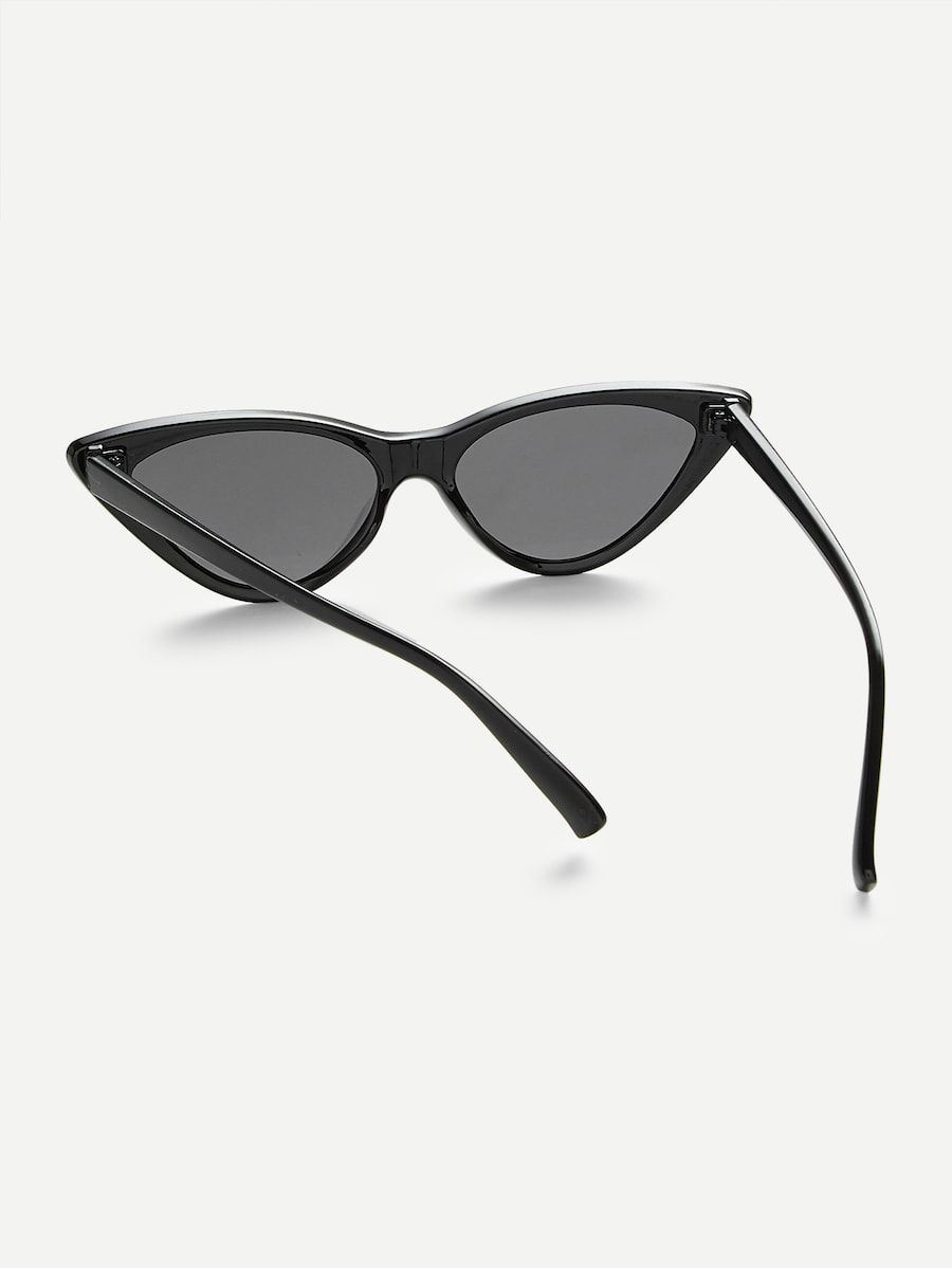 5d9ea1d43c Flat Lens Cat Eye Sunglasses in 2019   Sunglasses 2019   Cat eye ...