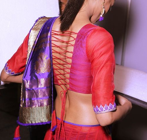 open_back_blouse_design