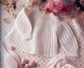 AS RECEITAS DE CROCHÊ: Casaquinho de crochet