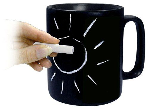 Konitz Classic Chalk Talk 12 Ounce Mug Black Gift Boxed Konitz Http Smile Amazon Com Dp B002vflawe Ref Cm Sw R Pi Dp Coffee Cup Design Mugs Creative Coffee