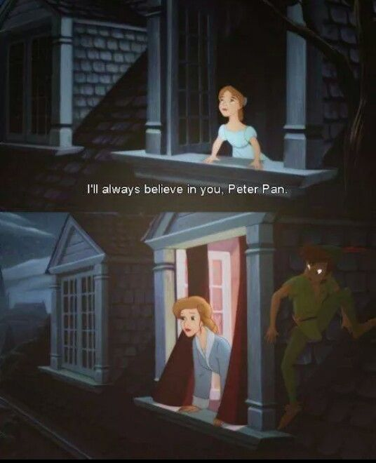 Always Peter Pan
