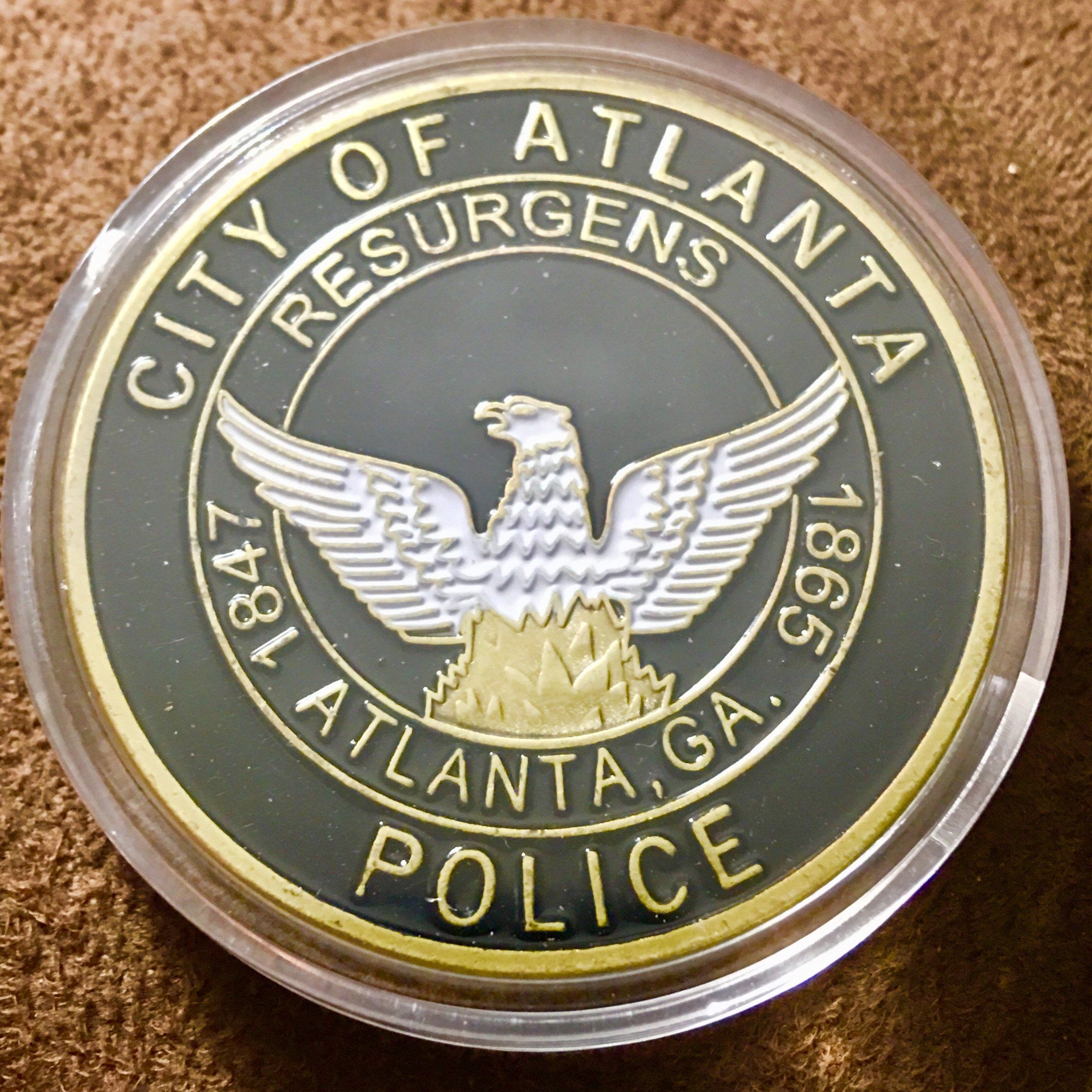 City Of Atlanta Police Challenge Coin Police Challenge Coins