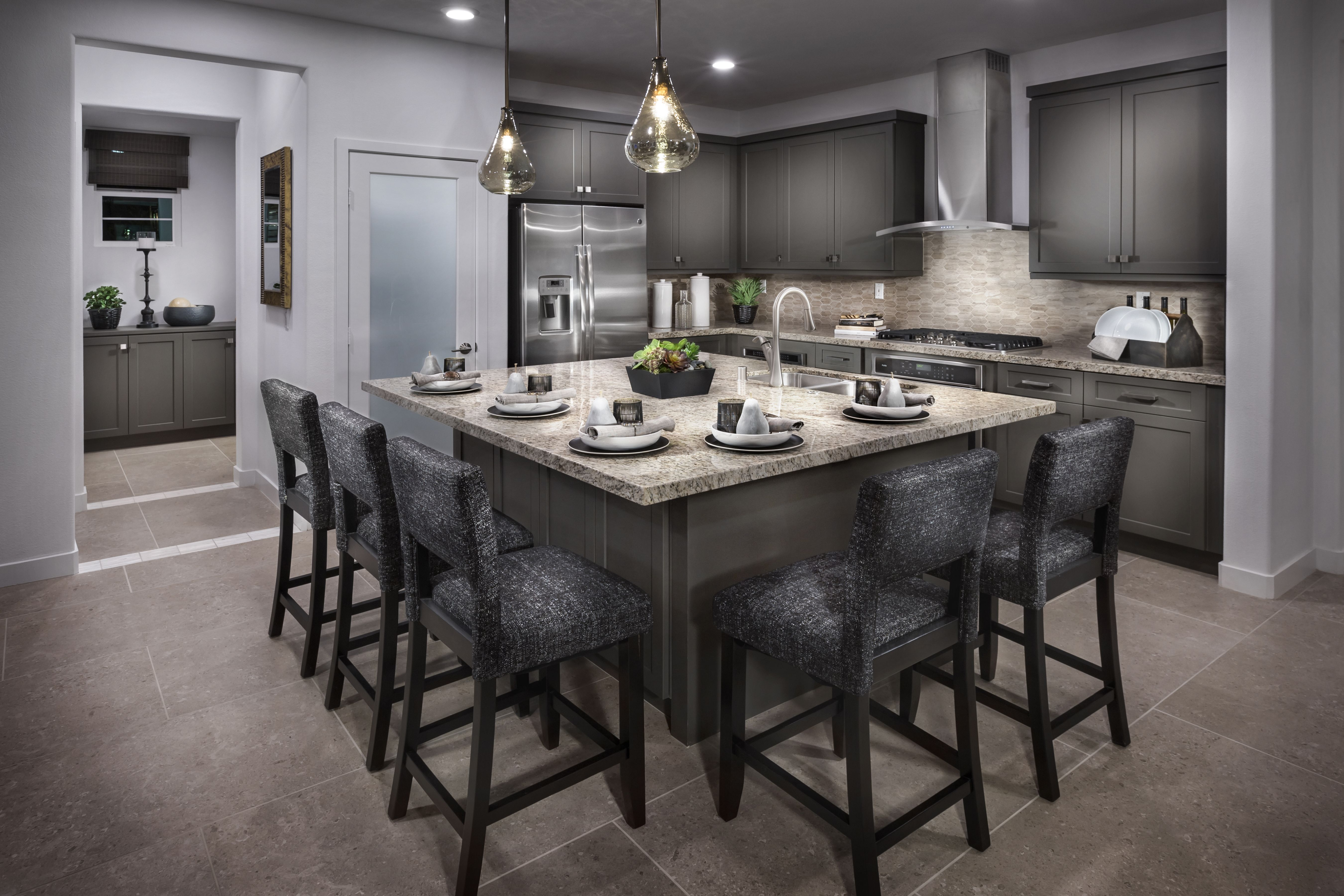 Take A Look Would You Like To Cook In This Kitchen Kitchen Ideas New House Home Kitchens Kitchen Design