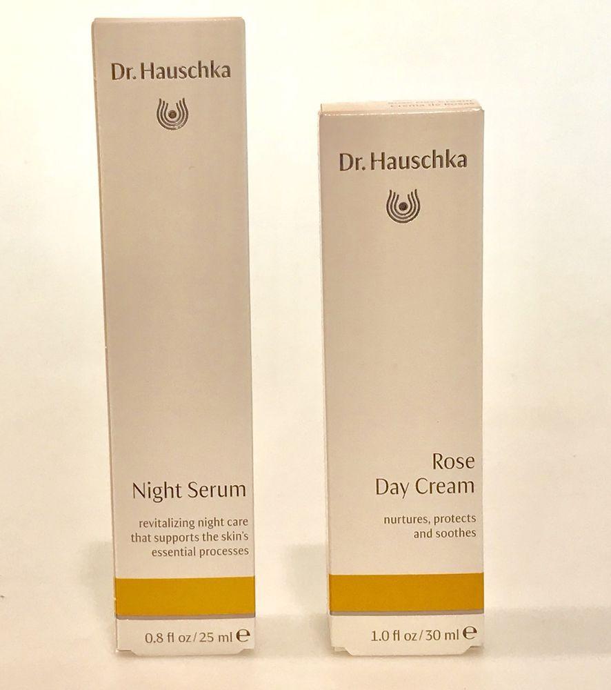 2 Dr Hauschka Items Rose Day Cream 1 Oz Night Serum 0 8 Oz 2 Items Drhauschka Drug Store Face Moisturizer Night Serum Skin Care Secrets