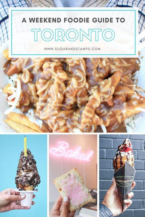Toronto Foodie Guide to Toronto