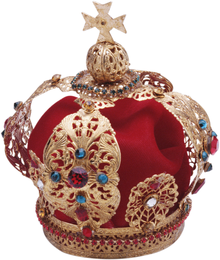 Gold Red Crown Korona Png Image Red Crown Royal Crowns Red Gold